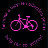 donate a bike collection point badge