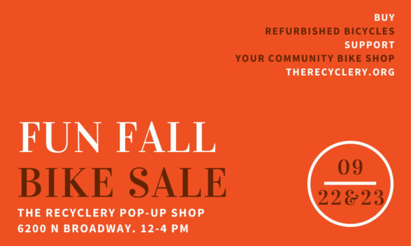 Fun Fall Bike Sale at 6200 N Broadway